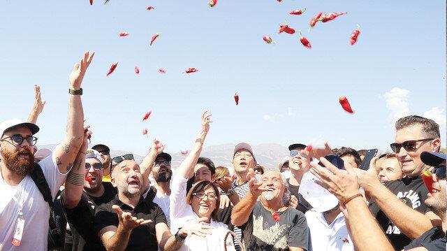 Lezzetin başkentinde lezzet festivali başladı