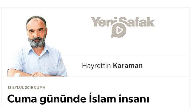 Cuma gününde İslam insanı