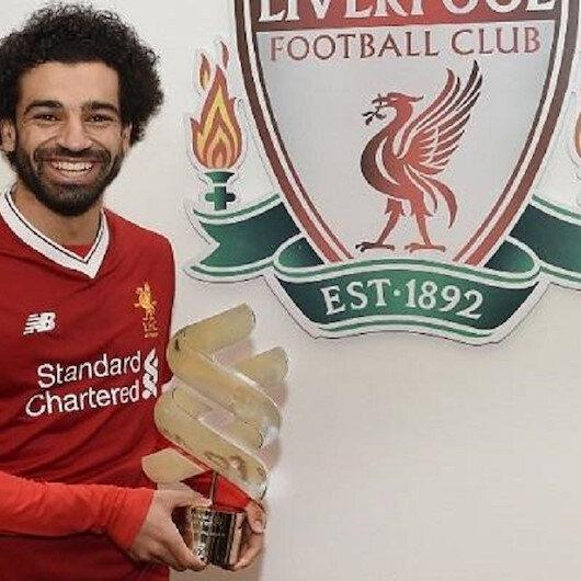 محمد صلاح لاعب الشهر في ليفربول