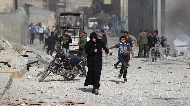 İdlib'de sivillere saldırı: 3 ölü