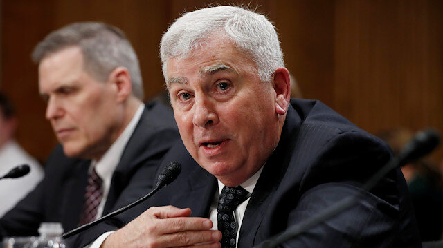 Retired four-star Army General John Abizaid testifies before the Senate Foreign Relations
