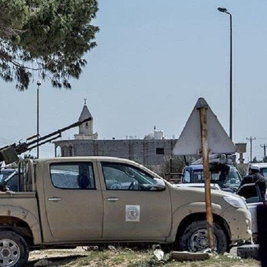 """ليبيا.. قوات """"حفتر"""" تقصف مطار معيتيقة بصواريخ غراد"""