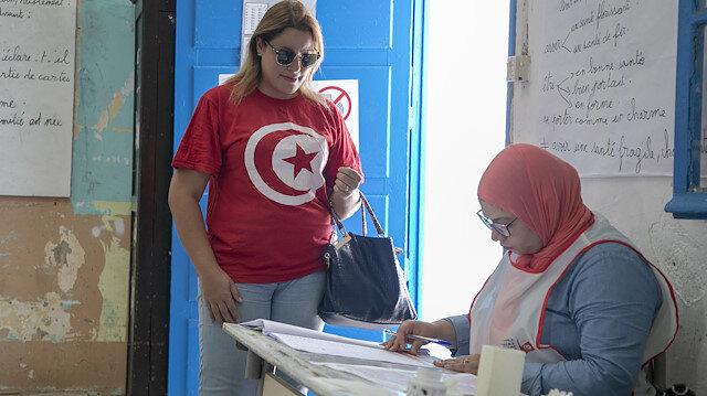 Tunus'taki seçime katılım oranında büyük düşüş