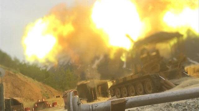 Turkish army destroys seized explosives in N. Iraq