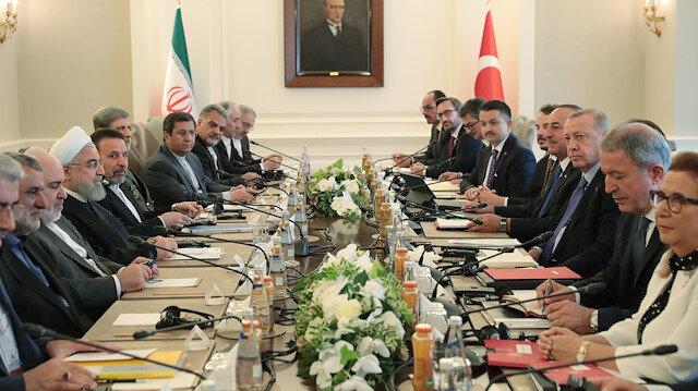 Erdoğan ile Ruhani Çankaya'da bir araya geldi