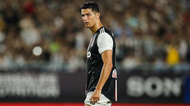 Cristiano Ronaldo gözyaşlarını tutamadı