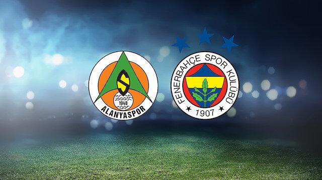 Alanyaspor-Fenerbahçe