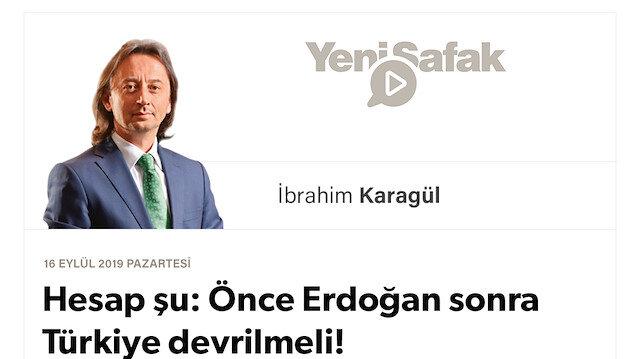 * Hesap şu: Önce Erdoğan sonra Türkiye devrilmeli! * PKK ve FETÖ yetmedi. İçeride büyük cephe kuruyorlar şimdi * Dikkat edin, devrilen siz olabilirsiniz! Tarih sizinle değil, onunla yazılacak…