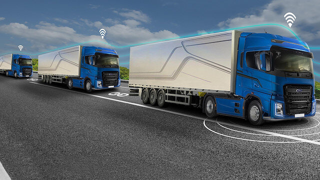 Ford Otosan 'otonom konvoy' teknolojisini tanıttı