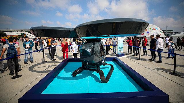 Milli uçan araba Cezeri görücüye çıktı