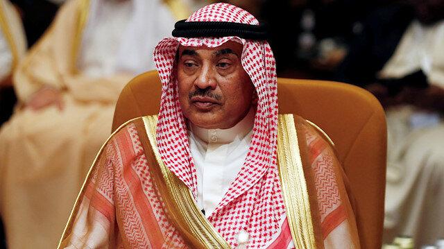 Kuwait's Foreign Minister Sheikh Sabah al Khalid Al Sabah attends the Arab Foreign meeting in Riyadh, Saudi Arabia April 12, 2018. REUTERS/Faisal Al Nasser