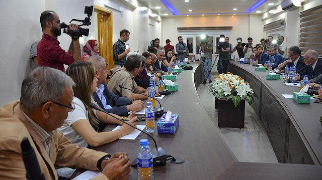 İngiliz milletvekilleri terör örgütü YPG/PKK'ya ziyaret etti