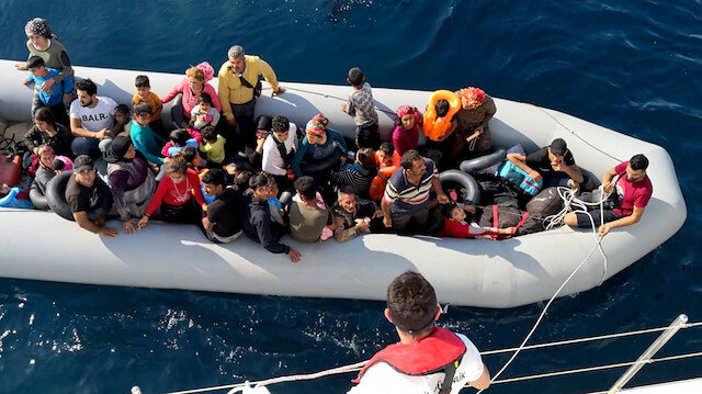 46 irregular migrants rounded up in Turkey's Didim district