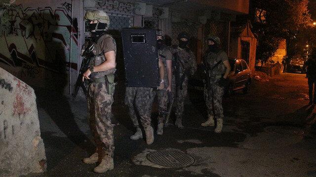 Kadıköyde helikopter destekli uyuşturucu operasyonu