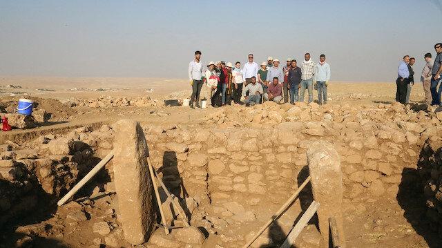 Göbeklitepe'ye benzeyen Harbetsuvan Tepesi'nde kazılar başladı