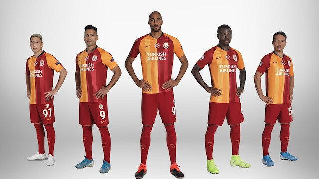 Galatasaray'ın forma sponsoru THY oldu