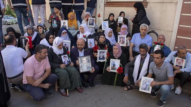 HDP binası önünde eylem yapan aile sayısı 40'a yükseldi