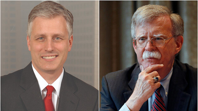 US special envoy for hostage negotiations, Robert C. O'Brien & Former National Security Advisor John Bolton