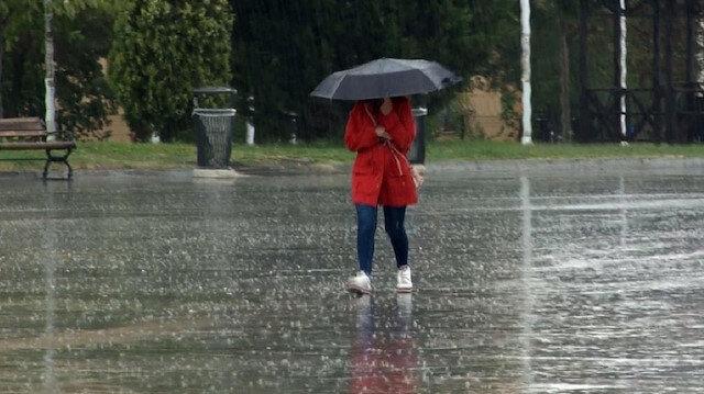 Meteorolojiden 6 ile yarın için yağış uyarısı