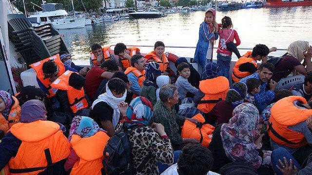 Çanakkale'de 115 düzensiz göçmen yakalandı