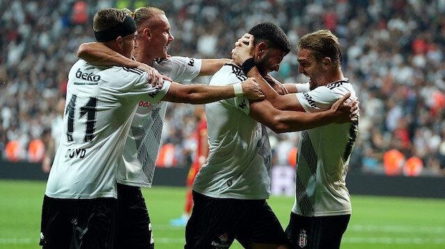 Beşiktaş'ın Slovan Bratislava maçı kadrosu açıklandı