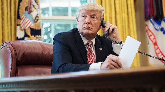 Trump'tan İran'a gözdağı: Tek bir telefonla girebiliriz