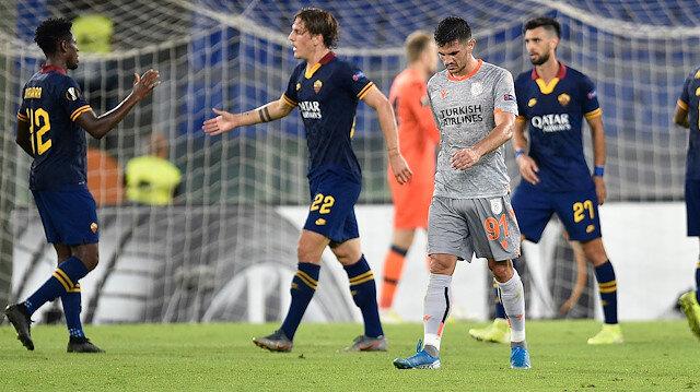 Roma-Başakşehir: 4-0