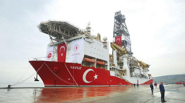 Yavuz sondaj gemisi Mersin'de: Hazırlıkların ardından daha da güneye gidecek