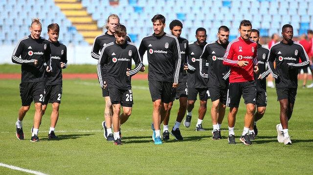 Siyah-beyazlılar lig maçı hazırlıklarını Slovakya'da başladı.