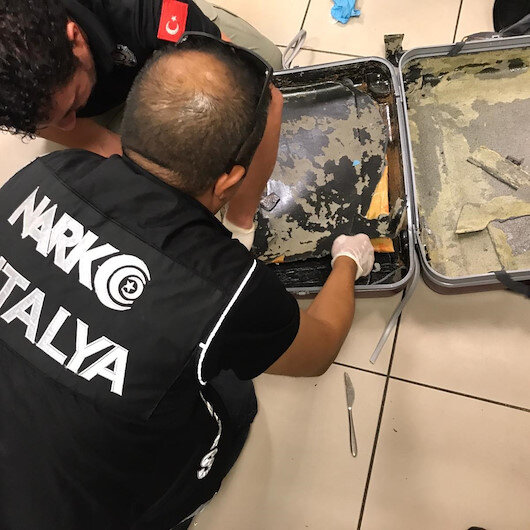 Antalya Havalimanı'nda 3,5 kilogram eroin ele geçirildi