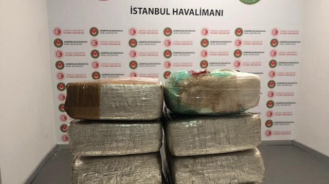 Police seize over 13 kg of cocaine in Istanbul