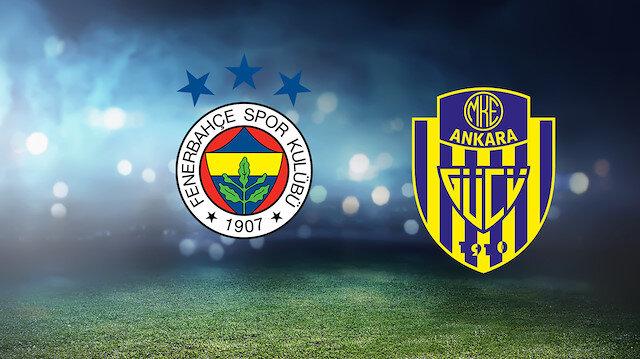 Fenerbahçe-Ankaragücü