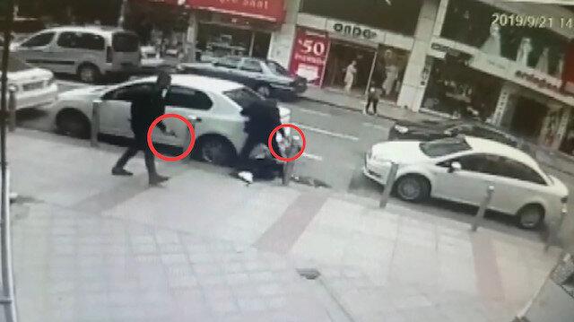 Kuaför çırağına sokak ortasında silahlı saldırı