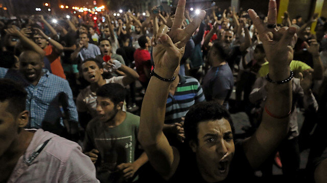 Anti-Sisi protests break out in Egypt