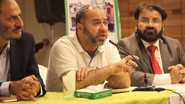 Kashmiri leader thanks for Turkey's support