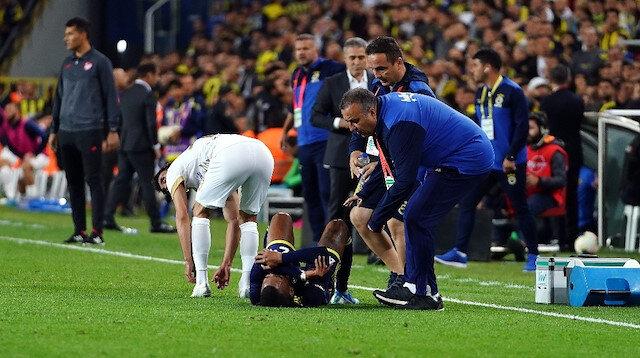 Fenerbahçe'de Rodrigues Ankaragücü karşılaşmasının 41. dakikasında sakatlık yaşamıştı.