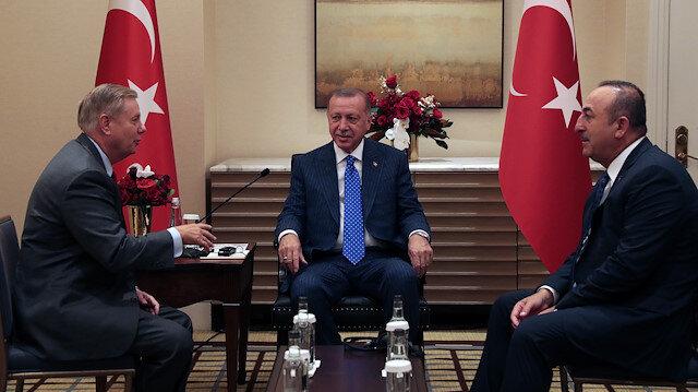 Cumhurbaşkanı Erdoğan ABD'li senatör ile görüştü