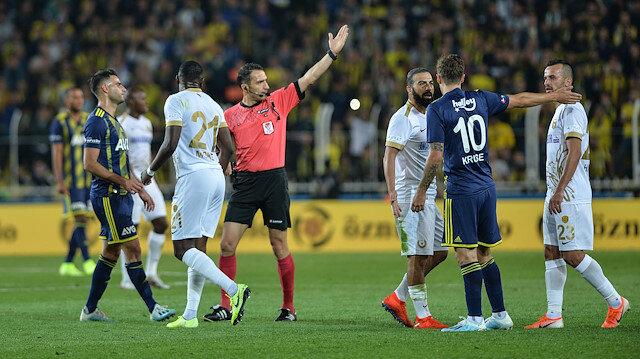 Ankaragücü Fenerbaçe maçının tekrarı için TFF'ye başvuracak