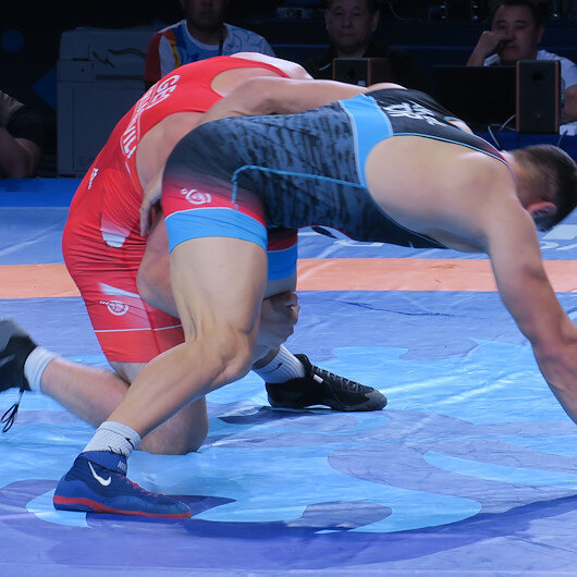 Turkey's Akgul comes second in World Wrestling C'ships
