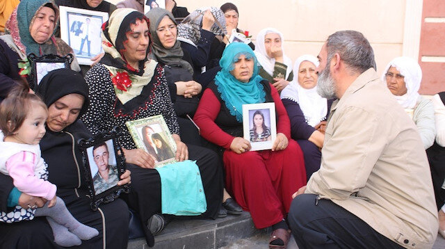 Dursun Ali Erzincanlıdan Diyarbakır annelerine destek ziyareti