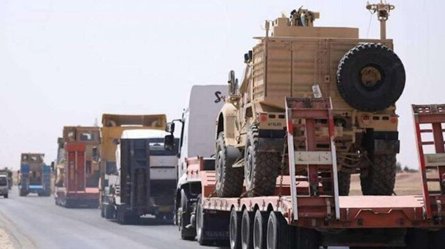 ABD'de teröristlere sevkıyata devam ediyor: PKK'ya 6 ayda 3 bin 700 tır silah yollandı