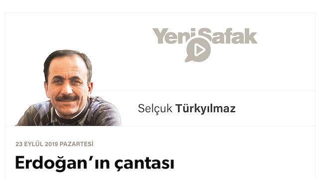 Erdoğan'ın çantası