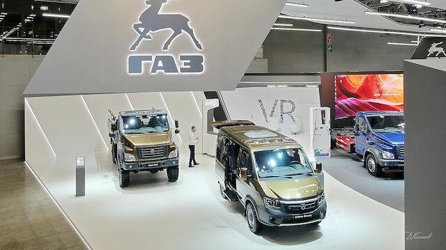 GAZ 10 yeni modelini Moskova'da görücüye çıkardı