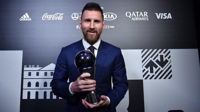 FIFA Yılın En İyi Erkek Futbolcusu Ödülü'nün sahibi, Barcelona'nın Arjantinli yıldızı Lionel Messi oldu.