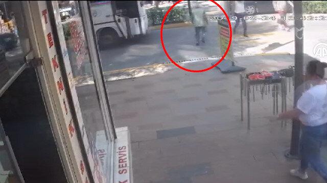 Otobüsün altında 100 metre sürüklenen yaşlı adamdan mucize kurtuluş