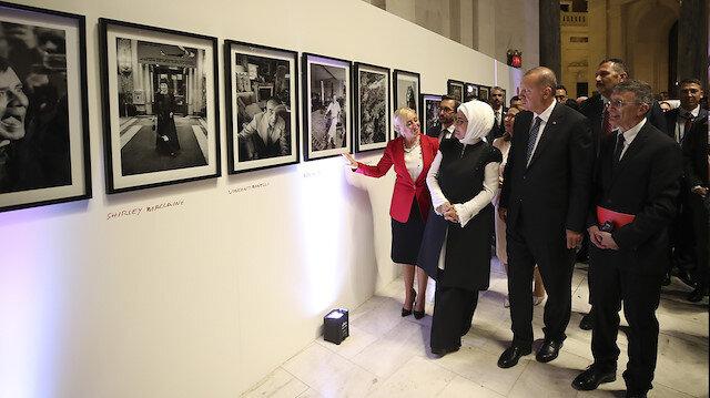 Erdoğan ABD'deki Ara Güler Sergisi'nin açılışını yaptı