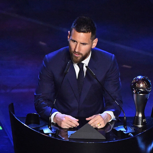 Soccer: Messi wins best FIFA player of the year for record sixth time