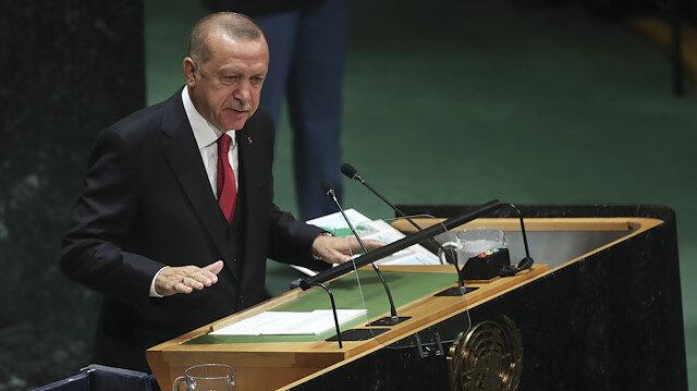 Cumhurbaşkanı Erdoğan'ın BM'de yaptığı tarihi konuşmanın tamamı: İsrail neresi?