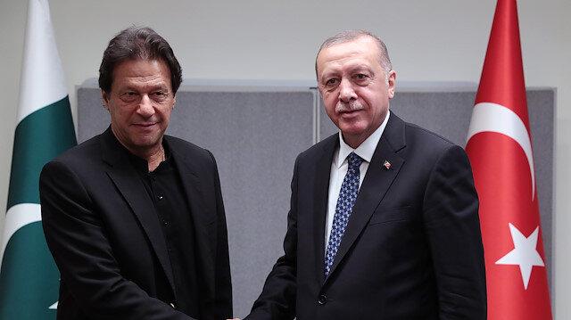 Pakistani Prime Minister Imran Khan & Turkish President Recep Tayyip Erdoğan