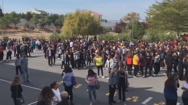 Silivri'deki bazı okullar depremden sonra boşaltıldı